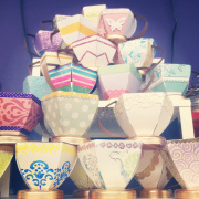 Stacking Paper Teacups