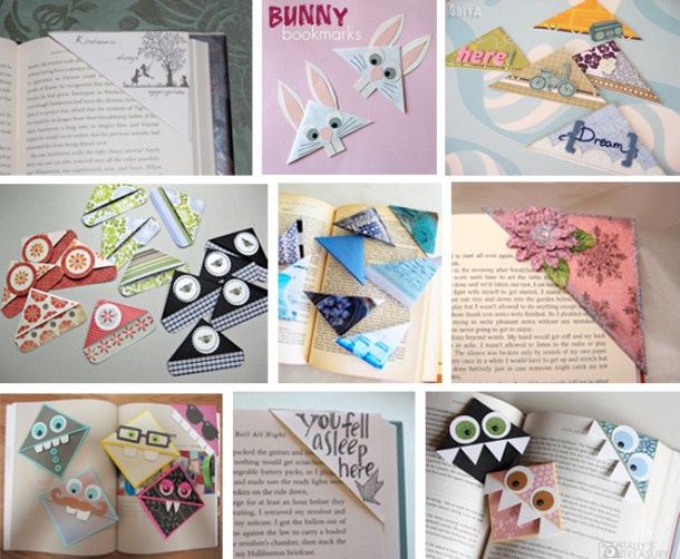How To DIY Origami Bookmarks Sarbe Invitations Papers