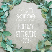 Sarbe Holiday Gift Guide 2013